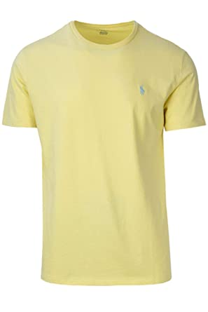 16a62e120 Polo Ralph Lauren Men's Classic Fit Crew-Neck T-Shirt Cotton (Medium ...