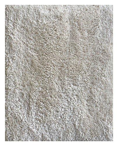 Crema Wall (Mohawk Home Cut to Fit Royale Velvet Plush Bath Carpet, Crema, 5 6 Feet)