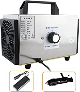 GXFC Generador de ozono automóvil 10000mg/h DC 12V Purificador de ...
