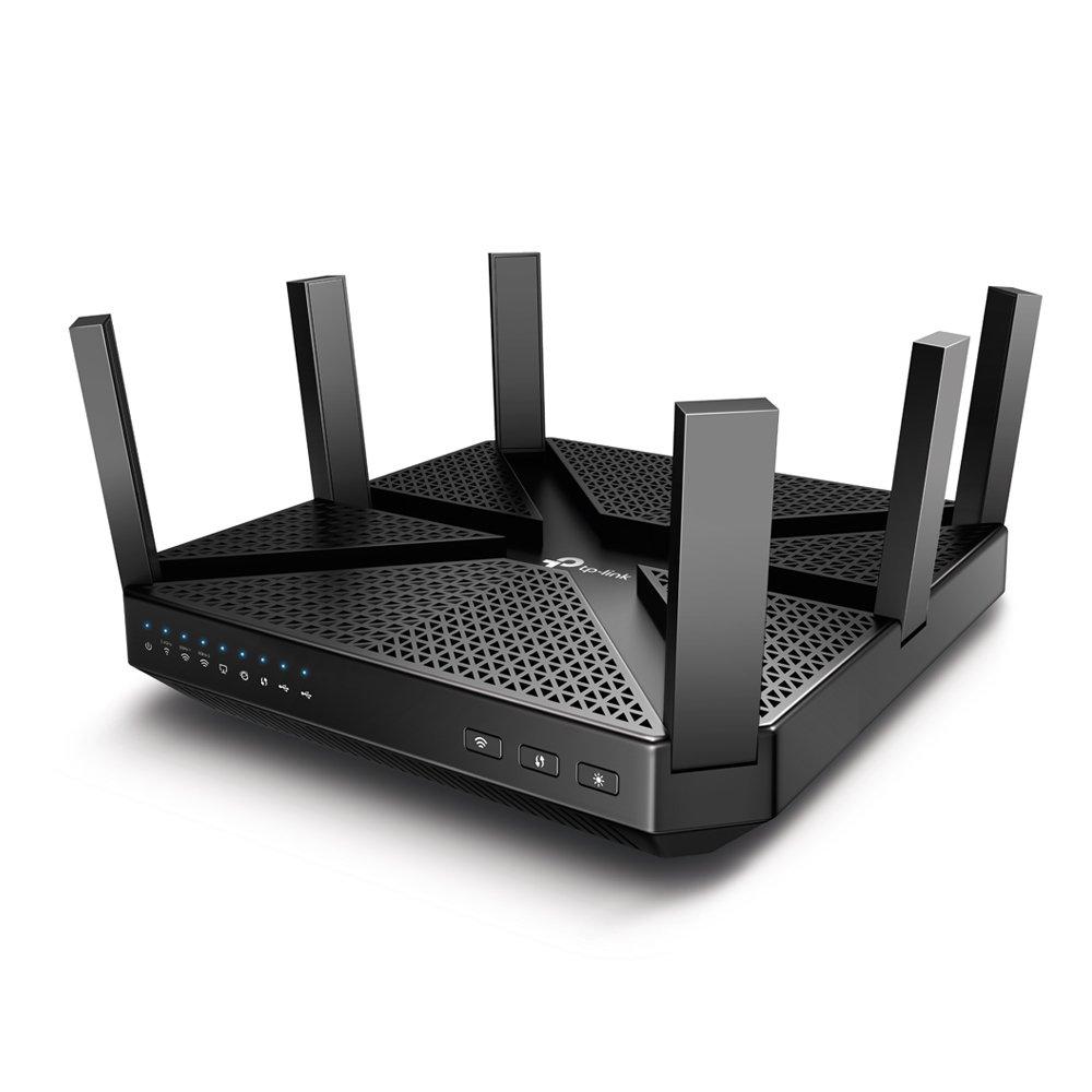 TP-Link Archer C4000 Wireless Tri-Band MU-MIMO Gigabit Router (Black)