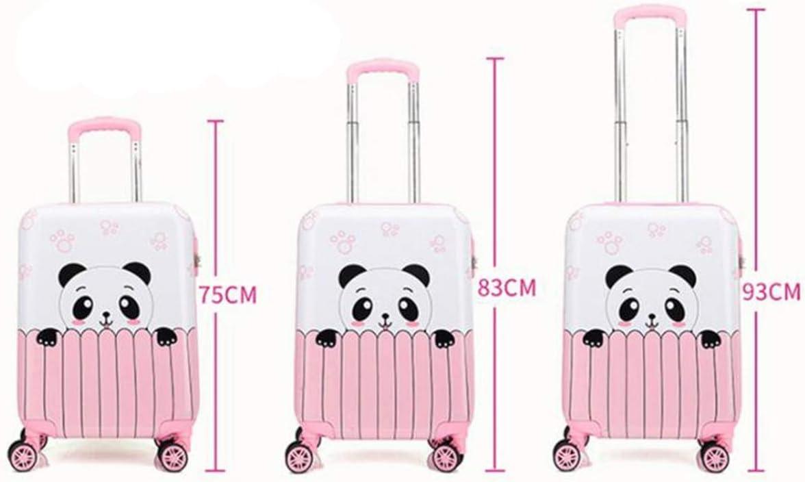 Size : 19, Style : R Cartoon Travel Trolley case Runtongshanghang Trolley case Universal Wheel Luggage 18//19//20 Multi-Color Trolley case