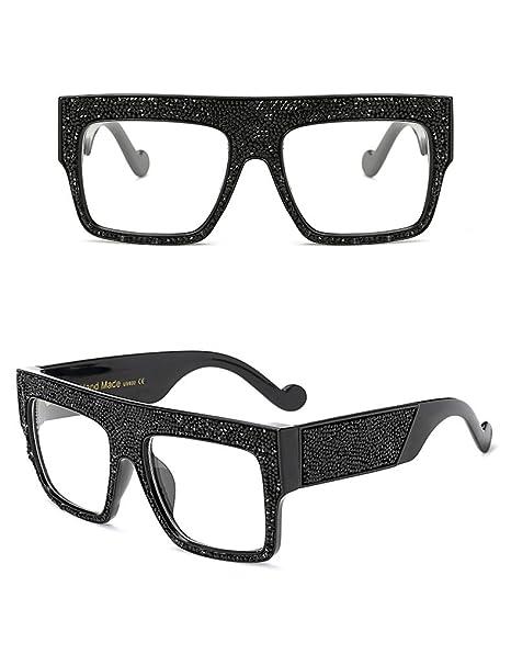 QiHorr(TM) Women Sunglasses Brand Designer Oversized Stars Sun glasses  Unisex Gradient oculos de 0bfa17562c