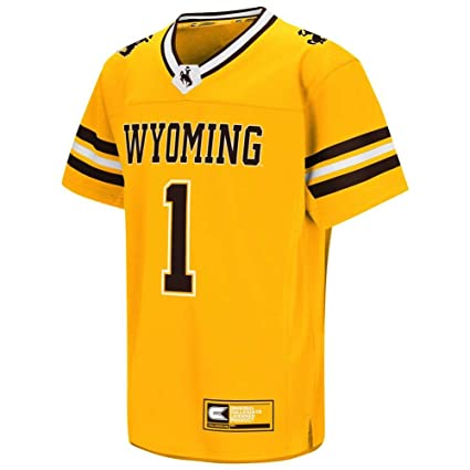 online store 245b4 85c9a Amazon.com : Wyoming Cowboys Youth Colosseum Hail Mary II ...