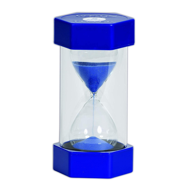 TickiT 92040Grande Sablier, 5minutes, 70mm de diamètre, Bleu 5minutes 70mm de diamètre Commotion Ltd 9504