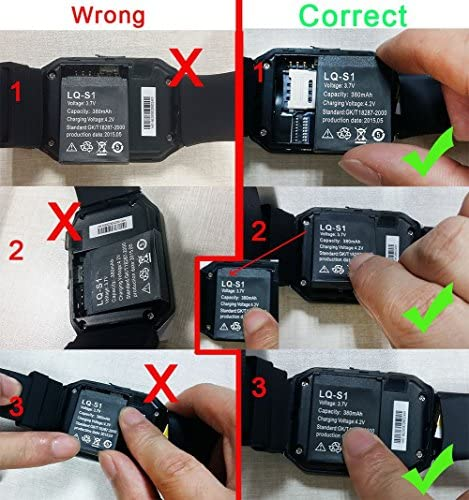 Rechargeable Battery for DZ09 Smart Watch
