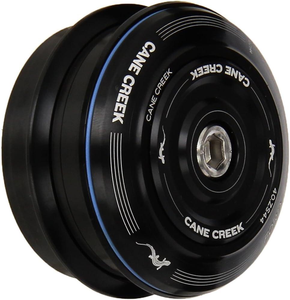 1-1//8-Inch Straight Steerer, Black Cane Creek 40-Series Zerostack Short Cover Complete for 44mm Head-Tube