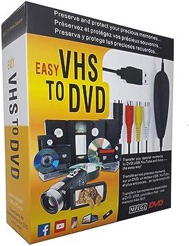 FONCBIEN VHS to Digital Converter: Amazon.es: Electrónica