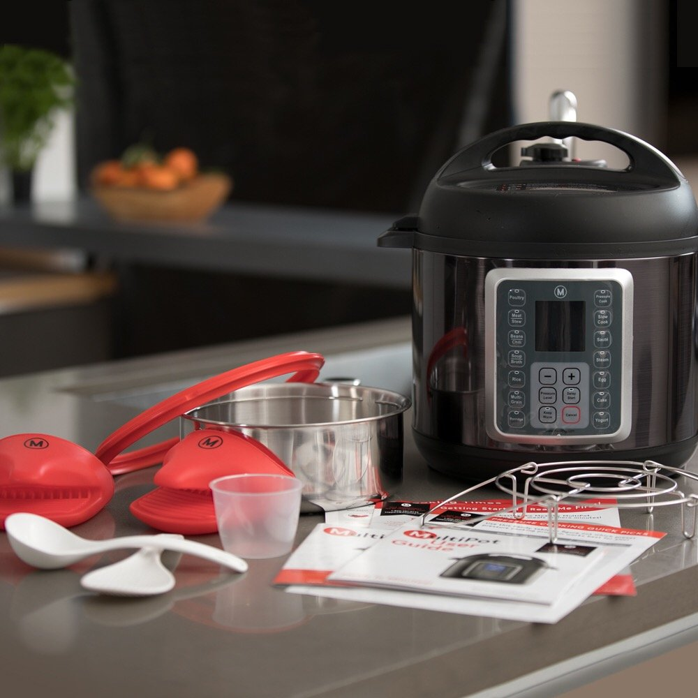 Mealthy MultiPot 6Qt 9-in-1 Programmable Pressure Cooker