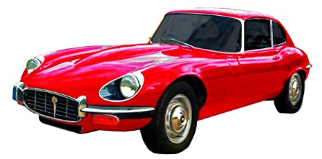 Type 81007 Jaguar E Cartronic 1963Rosso Speed Car Modellino vY76bygf