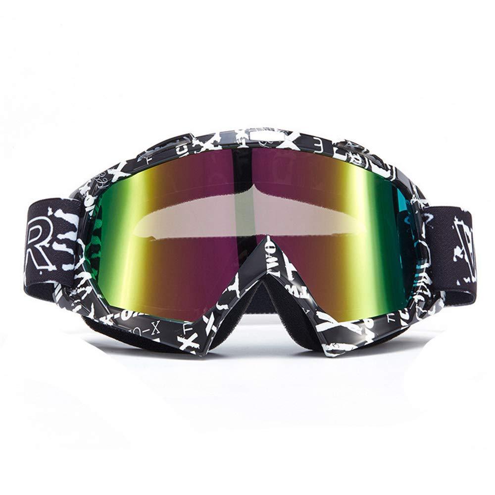 Style18 F MINIKATA Ski Goggles, Snowboard Goggles UV Predection, Snow Goggles Helmet Compatible for Men Women Boys Girls Kids, Anti Fog OTG