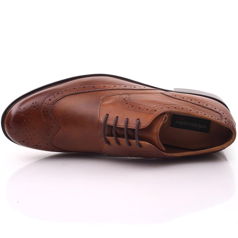 Unze Hombres Adama ' Oxford con cordones plano de cuero español Zapatos Formales tYNzjq