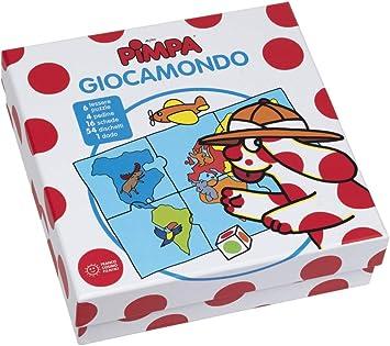 Franco Cosimo Panini Editore Pimpa - Giocamondo Merchandising Ufficiale: Amazon.es: Juguetes y juegos
