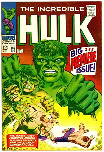 INCREDIBLE HULK #102 [First issue]