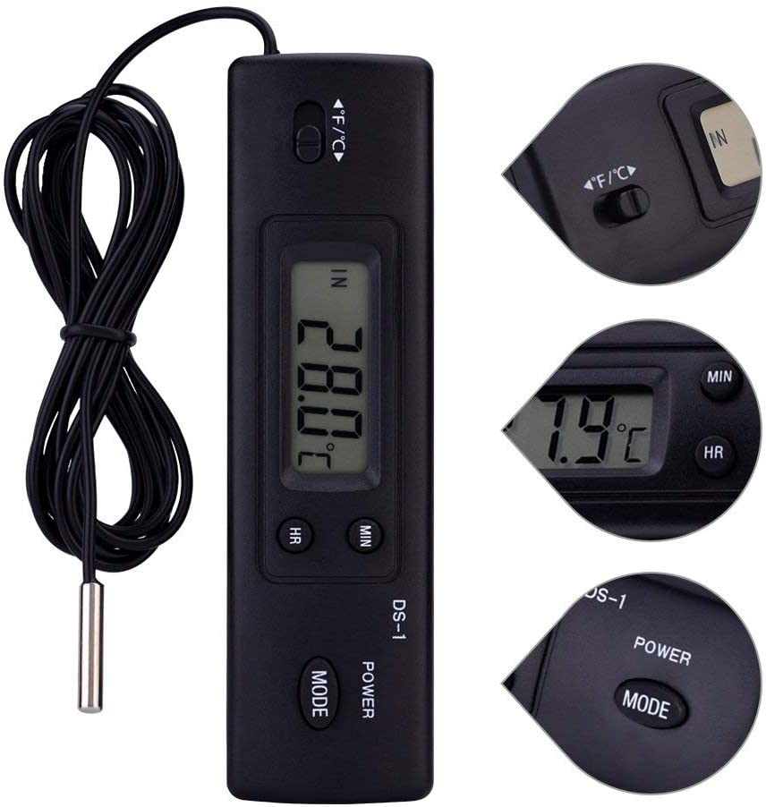 electrónica LCD Digital Termómetro Temperatura Humedad Cuchillo ...