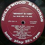 Michel Rene Midnight In Paris vinyl record