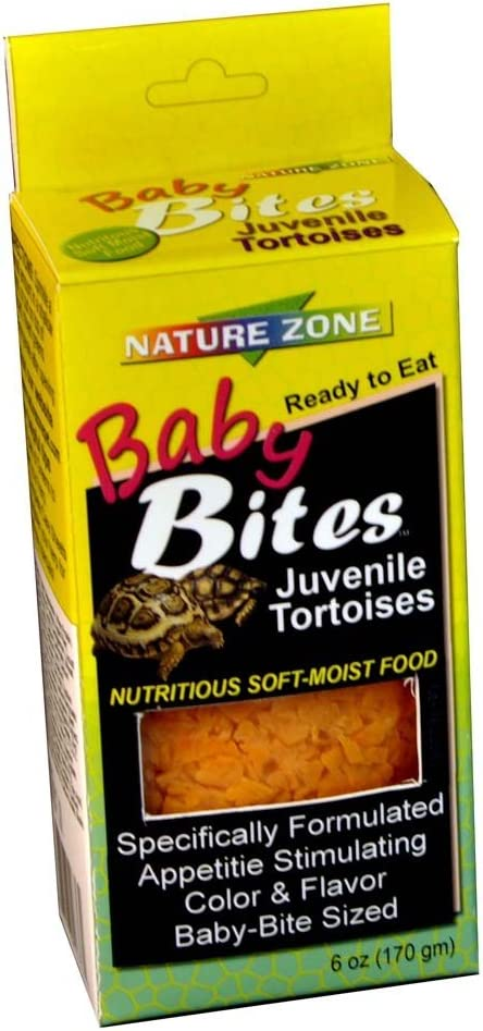 Nature Zone BabyBite Tortoise Food 6oz