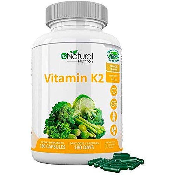 Solgar Vitamina K1 (Fitomenadiona) 100 µg Comprimidos ...