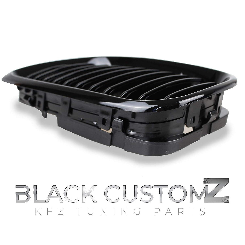 2005 Facelift Colore nero lucido ■ griglia radiatore per E46 berlina//Touring 2001