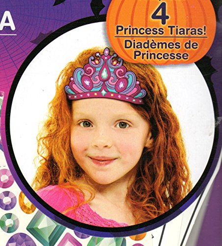 [Do It Yourself Make Your Own Halloween Mask Kit for Children Ages 4+ Makes 4 Masks (Princess Tiarra Crown Making Kit)] (Do It Yourself Halloween Costumes For Girls)