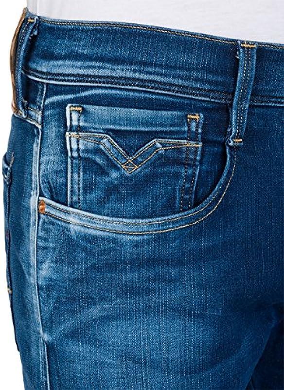 Replay Hyperflex męskie dżinsy Anbass: Odzież