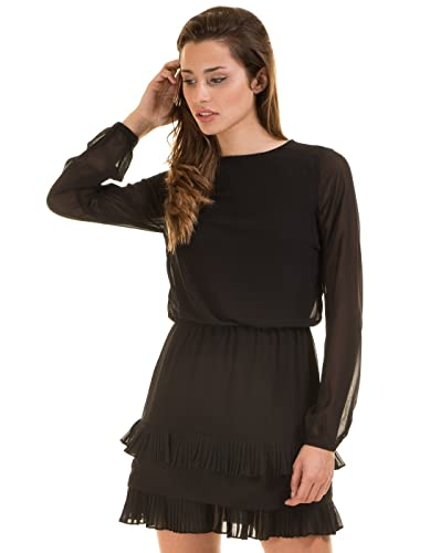 Short ruffle dress VMFREYA by Vero Moda (XS - Black)