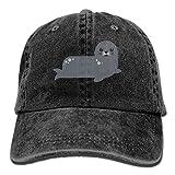 GqutiyulU Cute Seal Adult Cowboy Hat Black