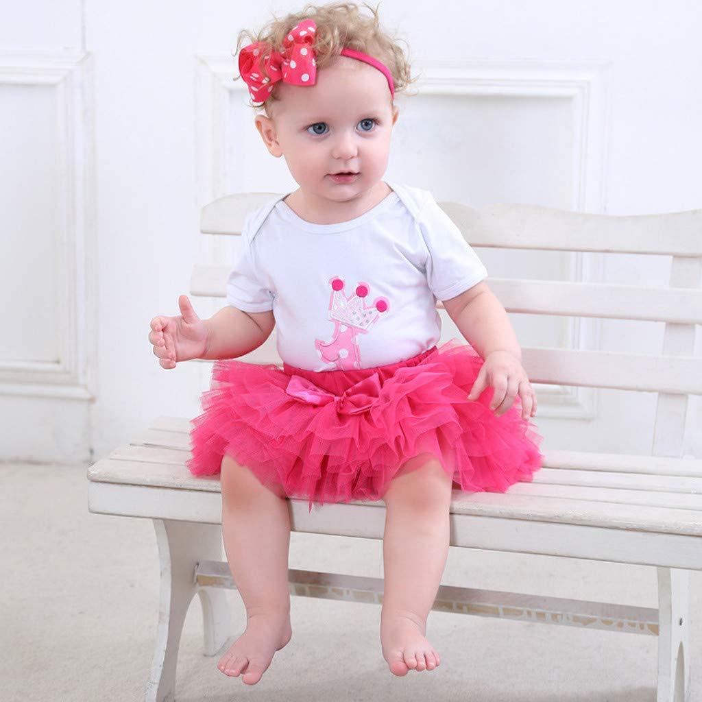 SiQing Kids Girl Petticoat Tulle Pettiskirt Bowknot Tutu Skirt Tiered Skirts Dancewear