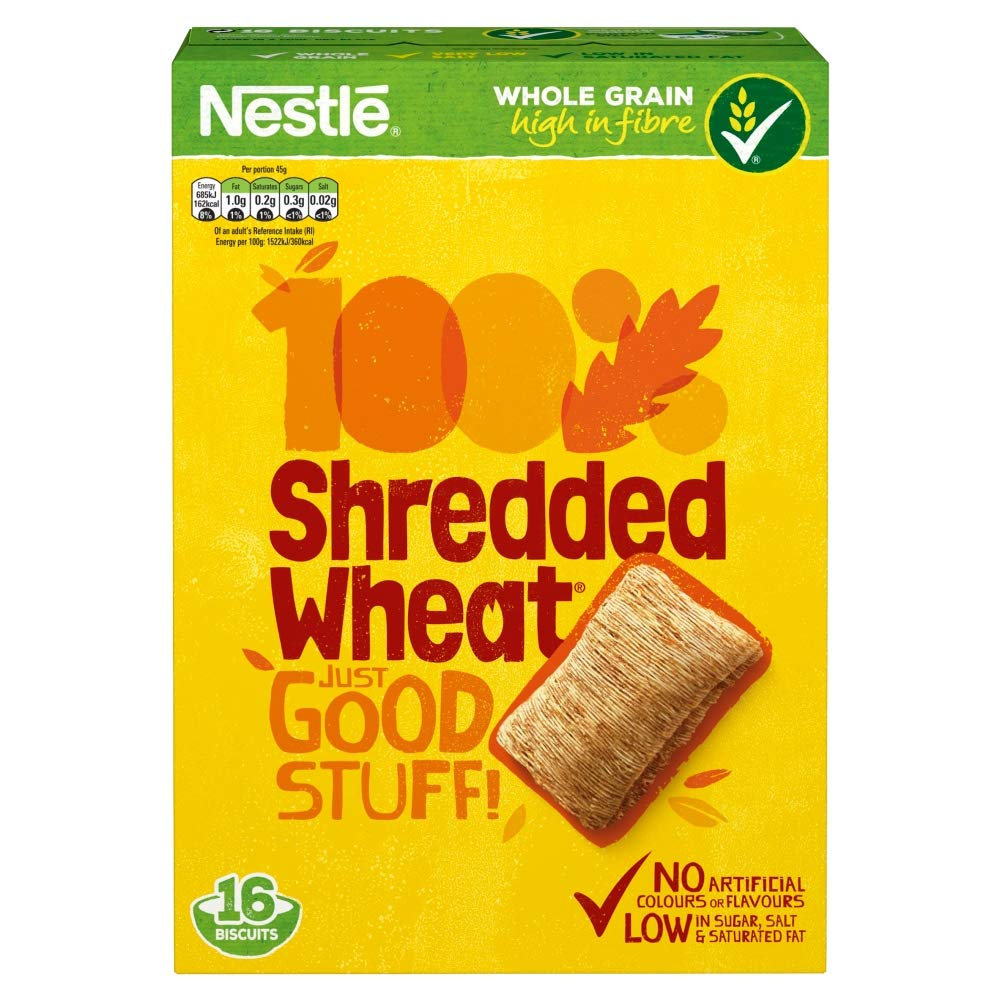 Nestle Shredded Wheat, 16 Biscuits