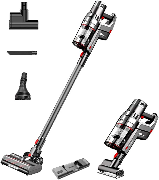 Amazon.com - Proscenic P11 Cordless Vacuum Cleaner, Stick Handheld Vacuum with Mop, 25000pa Powerful Motore Touch Screen, Removable Battery, 3 Adjustable Suction Modes for Hard Floor/Carpet/Pet Hair/Floor Washing -