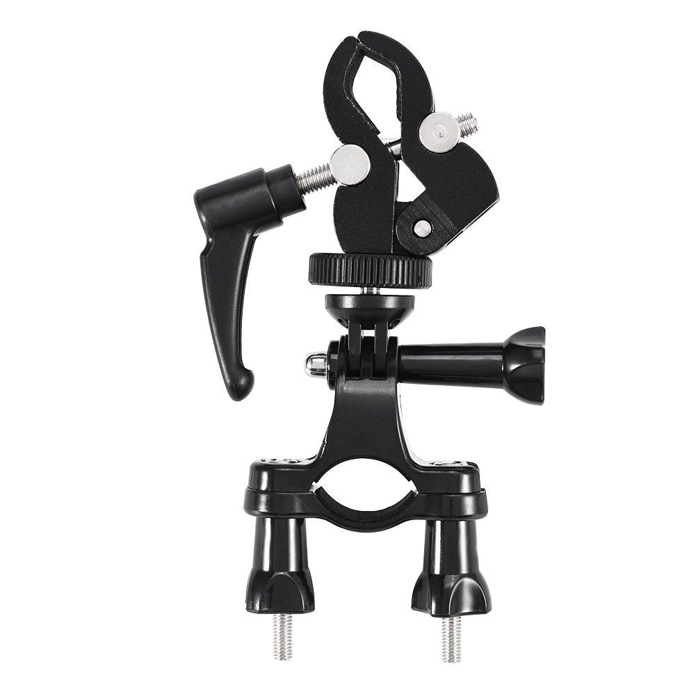 VBESTLIFE Outdoor Fahrradlenker f/ür Actionkamera Stabilisator f/ür Zhiyun Q Feiyu OSMO Actionkamera f/ür Fahrr/äder und Fahrradmotorr/äder Fahrradkamerahalter.