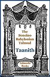 Talmud Taanith (Soncino Babylonian Talmud Book 19)
