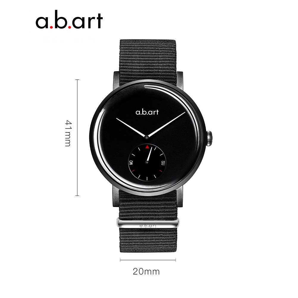 abArt Quartz Mens Watch ONE-225 Photo Shooting Black Dial Designer Smart Watches