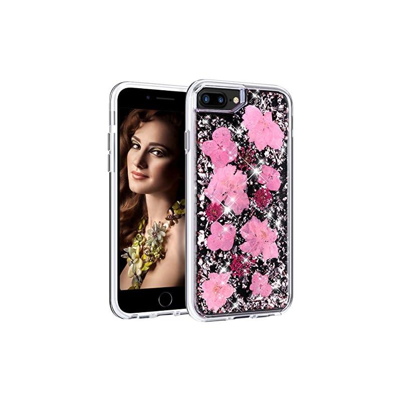 HoneyAKE iPhone 7 Plus 8 Plus Case Glitt
