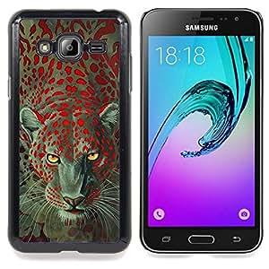 - Cheetah Leopard Animal Eyes Africa Fur - - Monedero pared Design Premium cuero del tir???¡¯???€????€??????????&fnof