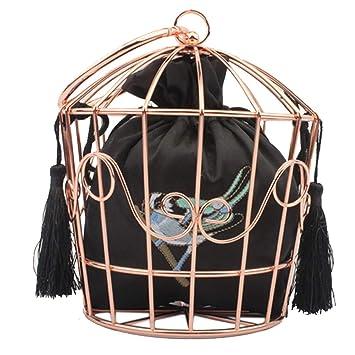 Bolsas de jaula de pájaros para mujer, paquete de bordado ...