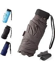 Parapluie Pliant, Parapluie de Poche, Parapluie Compact, Mini Parapluie Hydrofuge Parapluies de Voyage et Sorties en Plein air -Compact,Léger et à la Mode