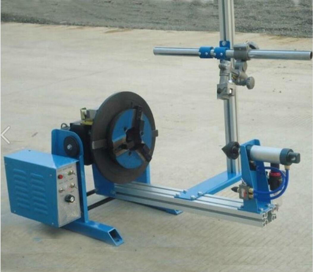 Combinatorial Welding Positioner Rotary Positioner 50KG With WP200 Chuck Center Holder 25mm (110V)