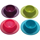 Colourworks Lot de 4 coquetiers en silicone