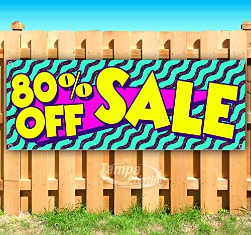 Sale Up to 80/% Off 13 oz Banner Heavy-Duty Vinyl Single-Sided with Metal Grommets