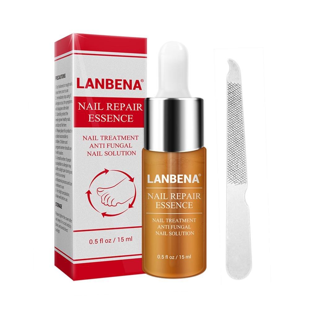 Nail Essence - Tratamiento de reparación de uñas con lima de uñas (15 ml): Amazon.es: Salud y cuidado personal