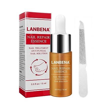 Nail Essence - Tratamiento de reparación de uñas con lima de uñas (15 ml)