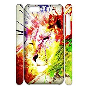 linJUN FENGLion DIY 3D Cover Case for iphone 6 4.7 inch,personalized phone case ygtg541982