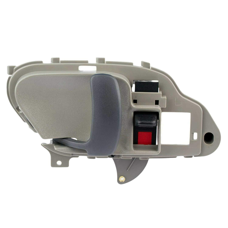 TOOGOO Tiradores de Las Puertas Interior Interior Juego de Pares Gris Izquierdo y Derecho para Chevy Gmc Tahoe Yukon 15708043 15708044