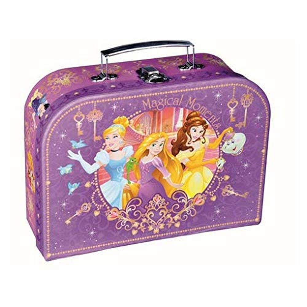 46893d9ad0d5 Disney Princess Childrens Pink Carry On Hand Luggage Suitcase Travel ...