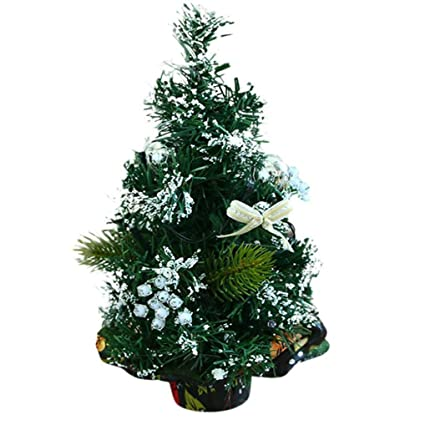 alonea mini christmas tree stick color decoration desktop small christmas tree silver