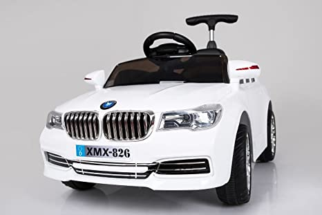 Buy Baybee Bmw 5 Series Battery Operated Car White Online At Low