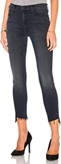 product image for MOTHER The Stunner Zip Ankle Step Fray Skinny Jeans in My Wildest Ride