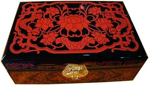 Wooden fish Caja Joyero Chino,joyerocaoba artesanía Antigua Caja ...