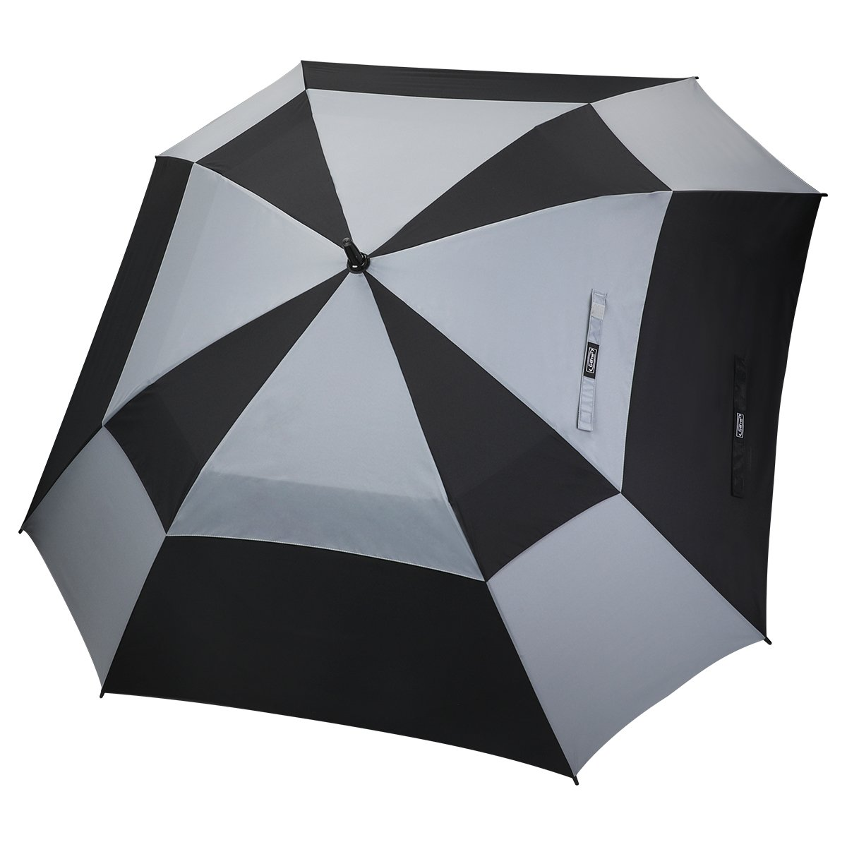 G4Free Extra Large Square Golf Umbrella 62 Inch Oversize Double Canopy Vented Umbrella Windproof Automatic Open Stick Umbrellas for Men Women by G4Free