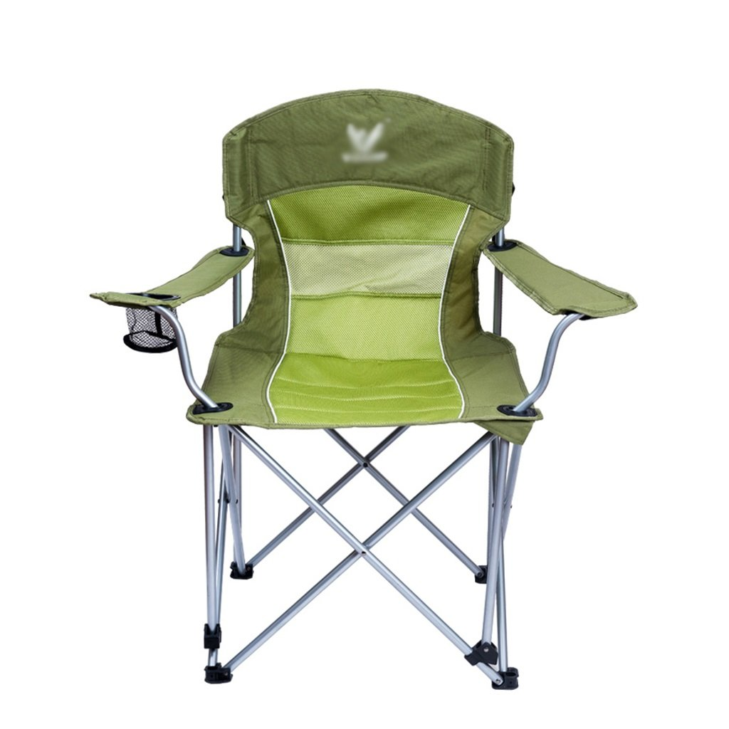Meng wei shop Camping Freizeit Klappstuhl | Baumwolle Warm Beach Chair | Direktor Stuhl | Gepolsterter Stuhl | Tragbare Komfortable Reststuhl | Kann 100 kg